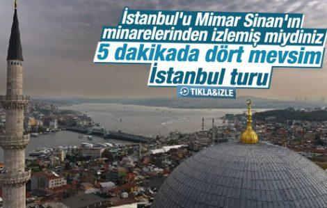 İstanbul'un Muhteşem 4 Mevsim Görüntüsü