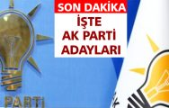 AK Parti'de Liste YSK'ya Teslim Edildi