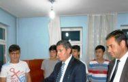 Ali Tatlı, Öğrenci Pansiyonlarını Ziyaret Etti