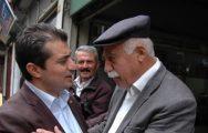CHP'li Aslanoğlu, Esnafı Ziyaret Etti