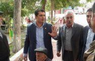 Aslanoğlu, Doğanşehir İlçesini Ziyaret Etti