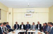 Milletvekili Özhan, Darende İlçesinde Temaslarda Bulundu