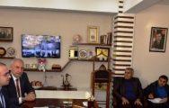 Özhan'dan AK Parti Malatya Teşkilatına Ziyaret