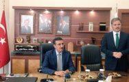 Tüfenkci, Çakır'ı Ziyaret Etti