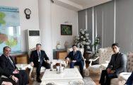 Hüseyinov, Çakır'ı Ziyaret Etti