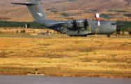Savaş Uçaklarının Kalkışının Engellenmesiyle İlgili Görüntüler