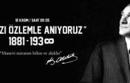 Atatürk Ölümünün 78.Yılında Anıldı