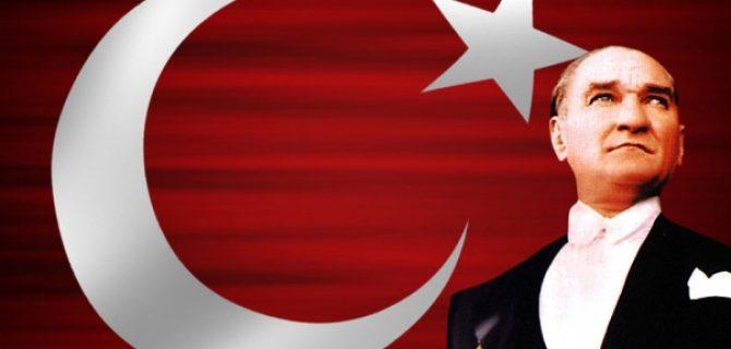 Büyük Önder Atatürk'e Mesaj