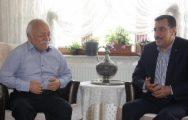 Bakan Tüfenkci,Haydar Karaduman'ı Ziyaret etti