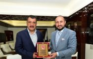 MTTB'den Başkan Gürkan'a Ziyaret