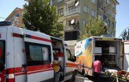 Malatya'da Yangında 20 Kişi Dumandan Etkilendi
