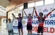 Türkiye Bisiklet Şampiyonası Malatya 4. Etabı tamamlandı