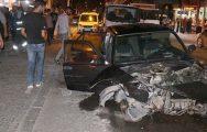 Suriyeliler Kazaya Karıştı 4 Yaralı