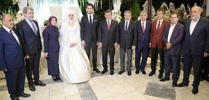 Davutoğlu Malatya'da Düğüne Katıldı
