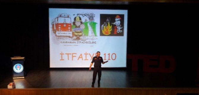 TED Koleji Öğrencilerine Yangın Eğitimi