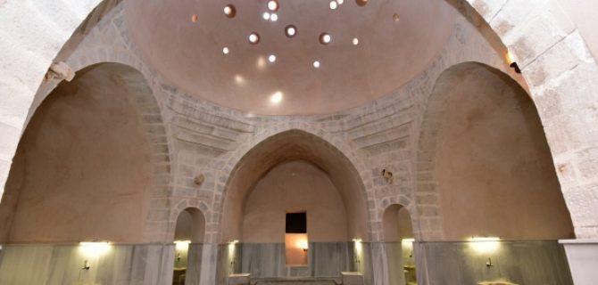 Tahtalı Hamam'da Restorasyon Çalışmaları Tamamlandı