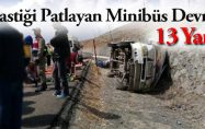 Malatya-Sivas Karayolunda Kaza: 13 Yaralı