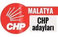 CHP Malatya Adayları Belli Oldu
