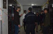 7 Kişinin Bindiği Asansör Zemine Çakıldı