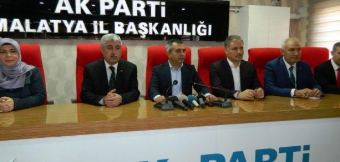 AK Parti İl Başkanı Koca Listeyi Değerlendirdi