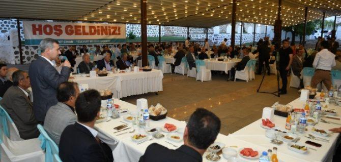 Başkan Çınar: Hedefimiz, Yeşilyurt'u Kalkındırmak