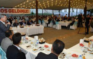 Başkan Çınar, Mahalle Muhtarlarını Ağırladı