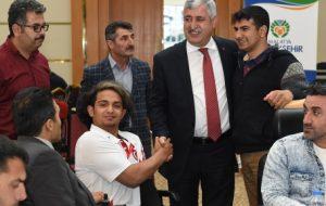 Başkan Polat Engellilerle Bir Araya Geldi