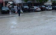 Darende'de Dolu Yağışı Etkili Oldu