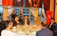 Şehit Aileleri Ve Gaziler Onuruna İftar Yemeği Verildi