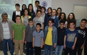 Sınavda Başarılı Olan Öğrenciler Ödüllendirildi