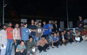 Malatya'da 71 Kaçak Göçmen Yakalandı