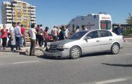Otomobil Motosiklete Çarptı: 2 Yaralı