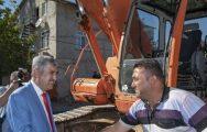 Başkan Polat, Altyapı Çalışmalarını İnceledi