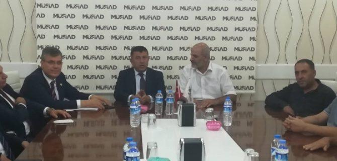 CHP Heyetinden MÜSİAD'a Ziyaret