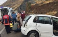 Darende'de Kaza: 2 Yaralı