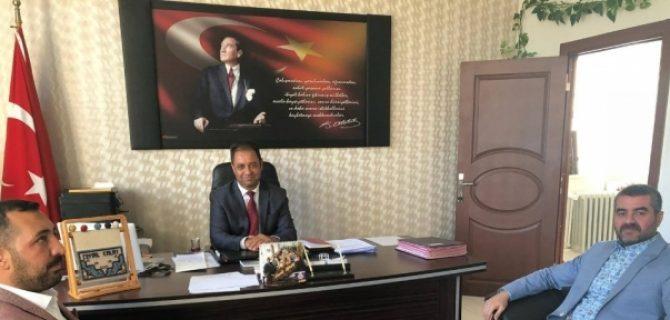 MHP'den İlçe Milli Eğitim Müdürlüklerine Ziyaret