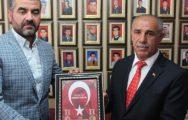 MHP'li Avşar'dan Gaziler Ve Şehit Aileleri Vakfı'na Ziyaret