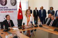 Turgut Özal Üniversitesinde Devir-Teslim Töreni
