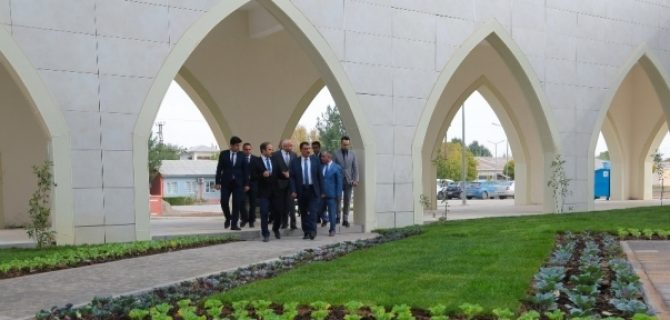 Gürkan'dan Turgut Özal Üniversitesi'ne Söz