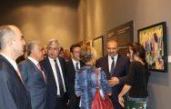 TCMB Sanat Koleksiyonu'nda ki Eserler Malatya'da Sergilendi