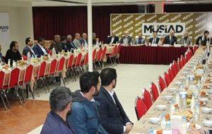 MÜSİAD'ın Konuğu Rektor Kızılay Oldu